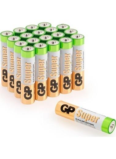 GP Gp Süper Alkalin Aaa Boy İnce Kumanda Pili 20'Li Paket R03 Lr03 Renksiz